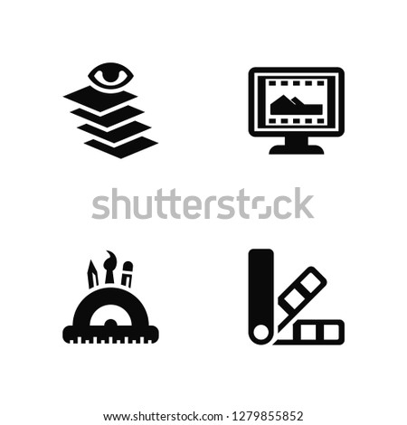 stock-vector-vector-illustration-of-icons-editable-pack-layers-de-monitor-undefined