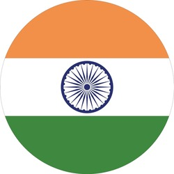 vector illustration of India flag