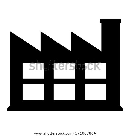 Vector Illustration of Industry Icon