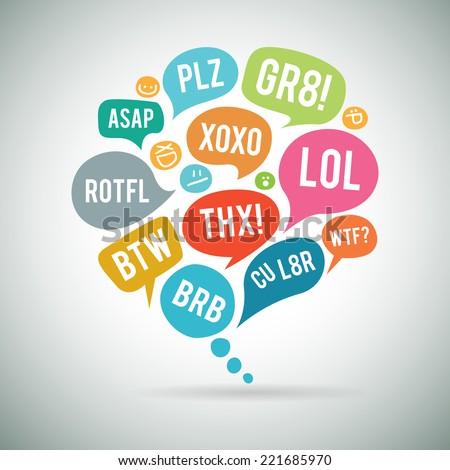 vector illustration of internet