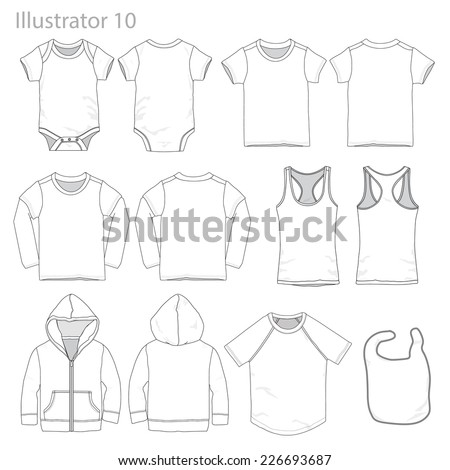 vector illustration of kid's