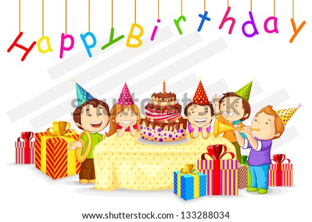Birthday Party Download Free Vector Art Stock Graphics Images