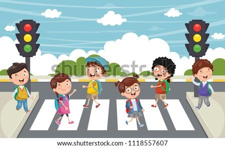Klettergerüst Clipart : Kinder laufen draußen kostenlose vektor kunst archiv grafiken