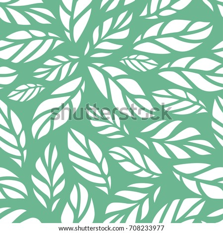 vector illustration of leaves