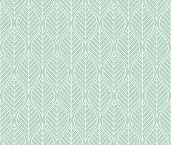Vector illustration of leaves seamless pattern. Floral organic background.