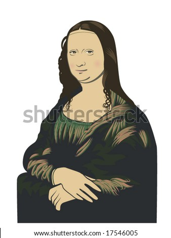vector illustration of leonardo