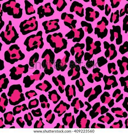 vector illustration of leopard