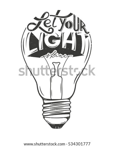 vector illustration of light