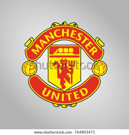 Vector illustration of Manchester United F.C. logo
