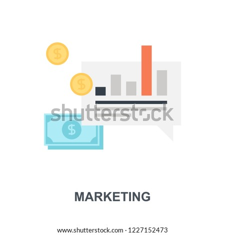 Vector illustration of marketing flat design concept.
