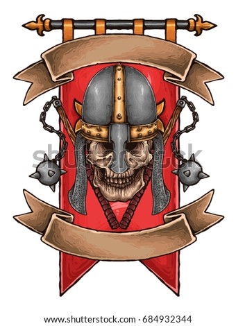 vector illustration of medieval