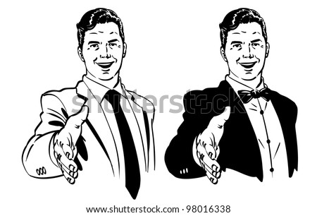 vector illustration of men...