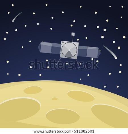 vector illustration of moon