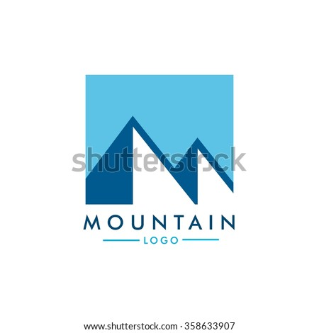vector illustration of mountain