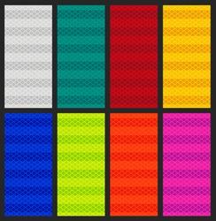 Vector illustration of Multicolore diamond grade reflective pattern