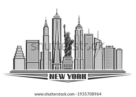 vector illustration of new york