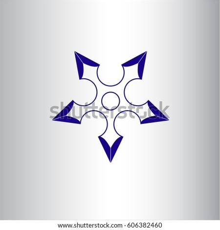 vector illustration of ninja