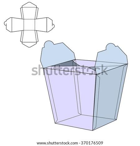 vector illustration of noodles