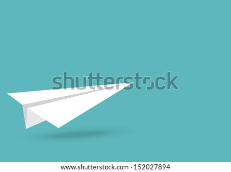 Free paper planes vector download free vector art stock vector illustration of paper plane malvernweather Gallery