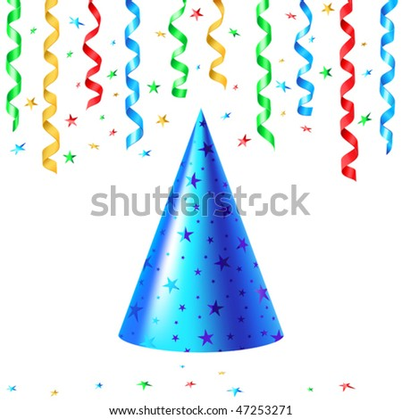 vector illustration of Party hat