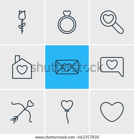 vector illustration of 9