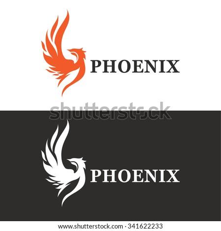 vector illustration of phoenix