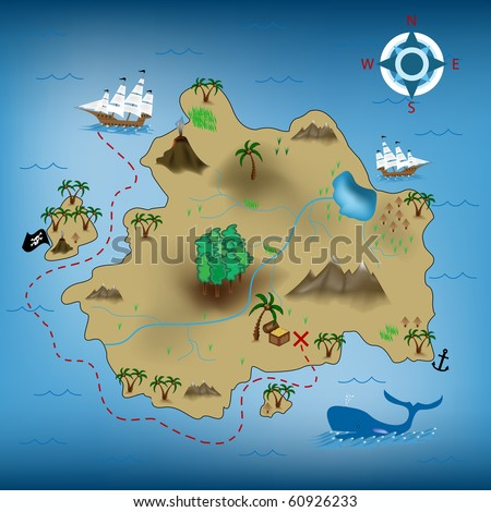 Pirate Map Symbols http://www.pic2fly.com/Treasure+Map+Symbols.html