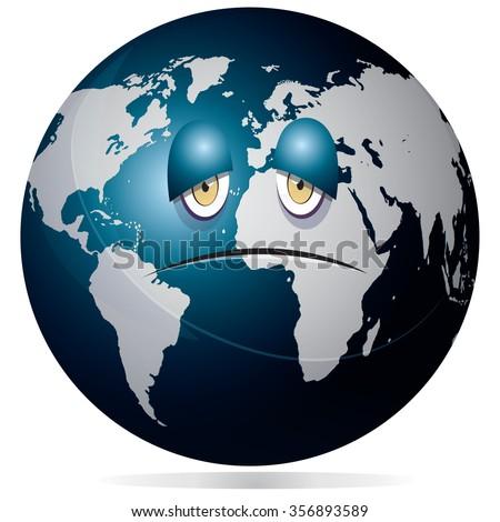 vector illustration of planet