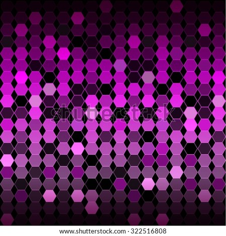 vector illustration of purple