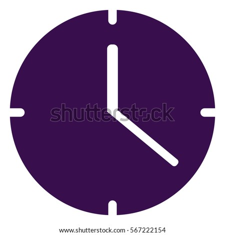 vector illustration of purple