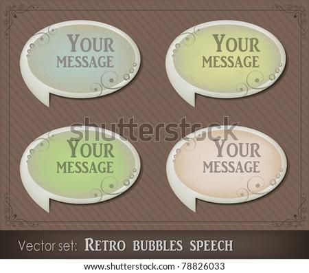 Bubbles speech