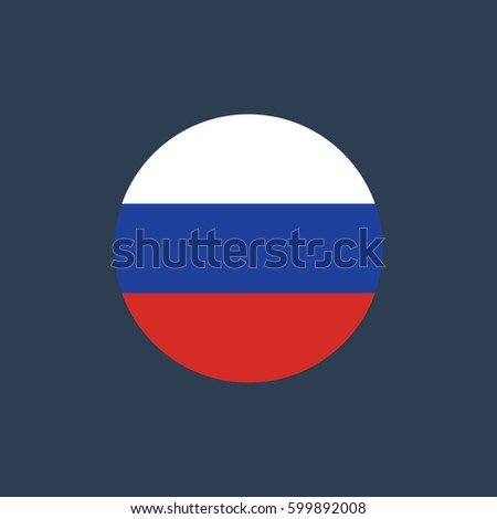 vector illustration of russia
