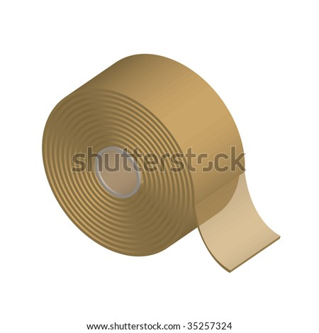 Vector illustration of sellotape