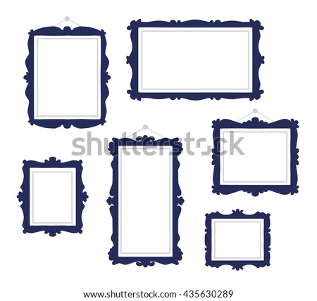 Photo Frames, Creative Borders in Vector - Download Free Vector Art ...