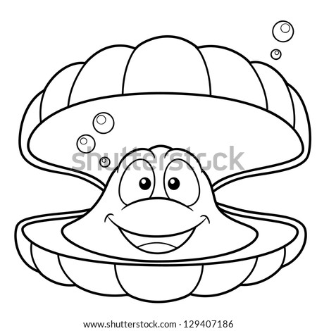 pictures of mussels Colouring Pages