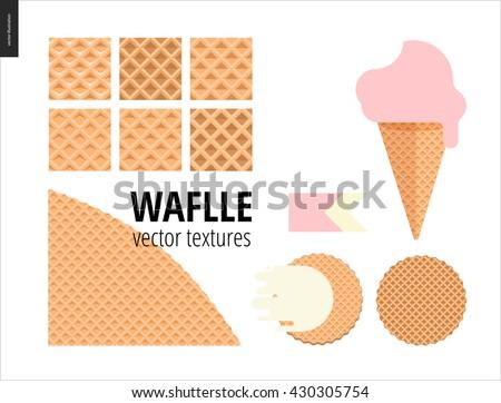 vector illustration of six