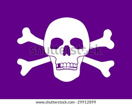 bones of skull. of Skull and Bones