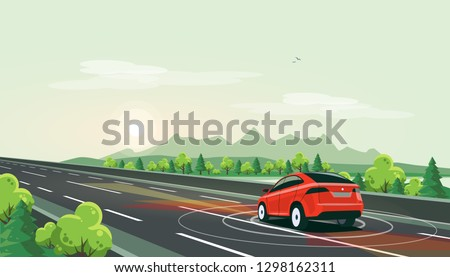 vector illustration of smart