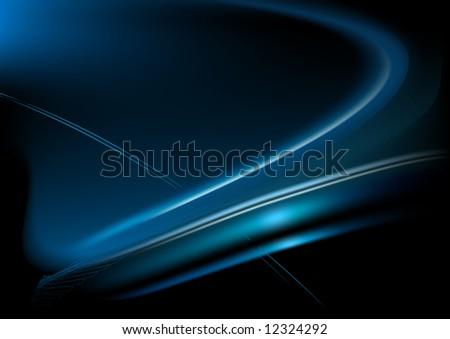 Vector illustration of soft waves.