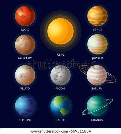 vector illustration of solar