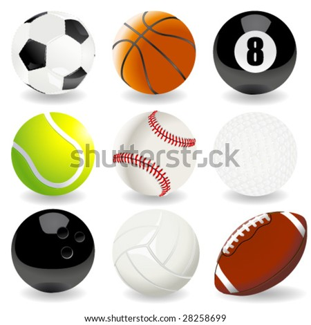 vector illustration of sport