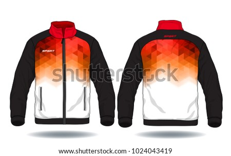 Vector illustration of sport jacket #1024043419