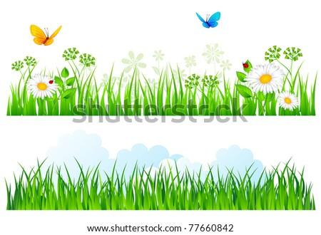vector illustration of summer