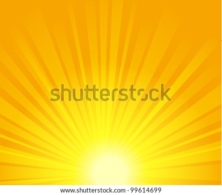 Stock Photo vector illustration of sunburst. EPS 10.