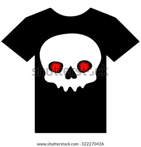 vector illustration of t shirt