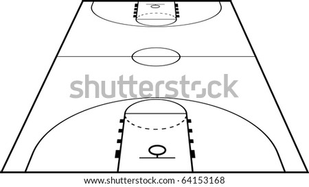 basketball court clipart. the Basketball Court Field