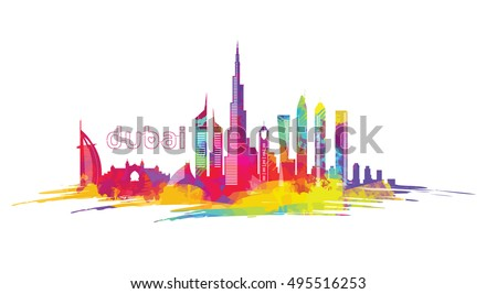 vector illustration of the city
