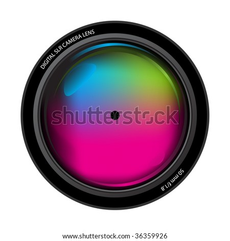 camera lens. digital camera lens