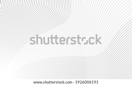 Vector Illustration of the gray pattern of lines abstract background. EPS10. Zdjęcia stock ©