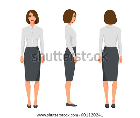 vector illustration of three